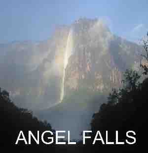 Angel Falls boat tour